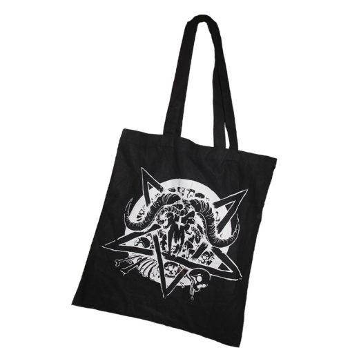 Stoffbeutel Schwarz – Pentagram